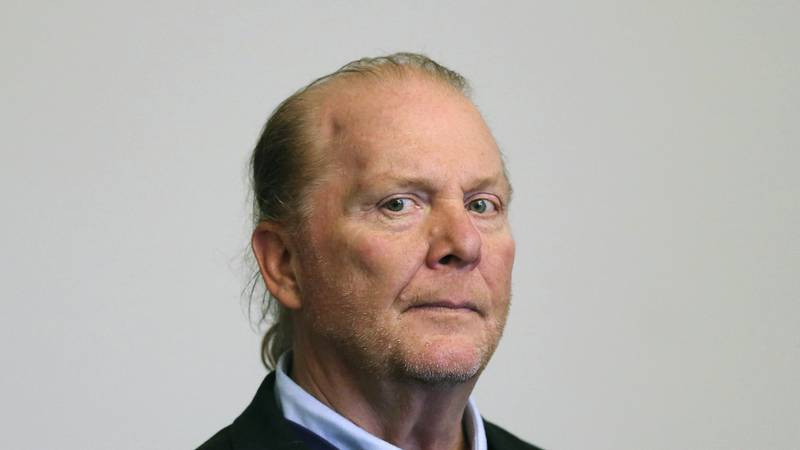 FILE - In this May 24, 2019, file photo, celebrity chef Mario Batali is arraigned on a charge...