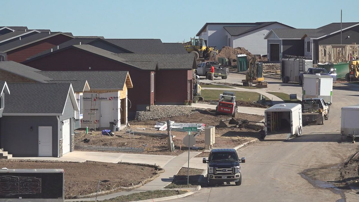 Homes and businesses will be built on the south side of Rapid City.