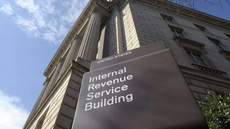 In this photo March 22, 2013 file photo, the exterior of the Internal Revenue Service (IRS)...