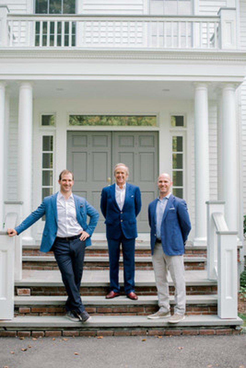 Left to right: Ryan Raveis (WRRE Co-President/WRM President), Bill Raveis (WRRE Founder and...