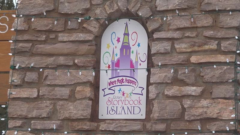Storybook Island has celebrated the holiday season with its Christmas Nights of Light event...