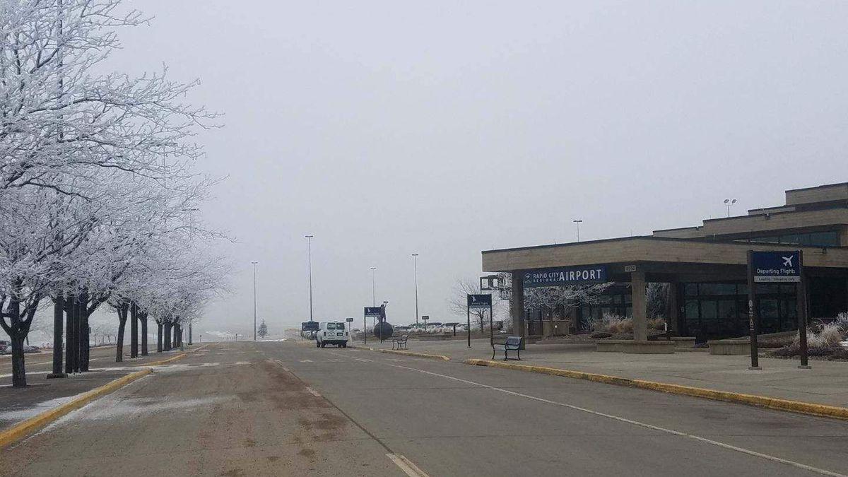 Fog Impacts Flights At Rapid City Regional Airport