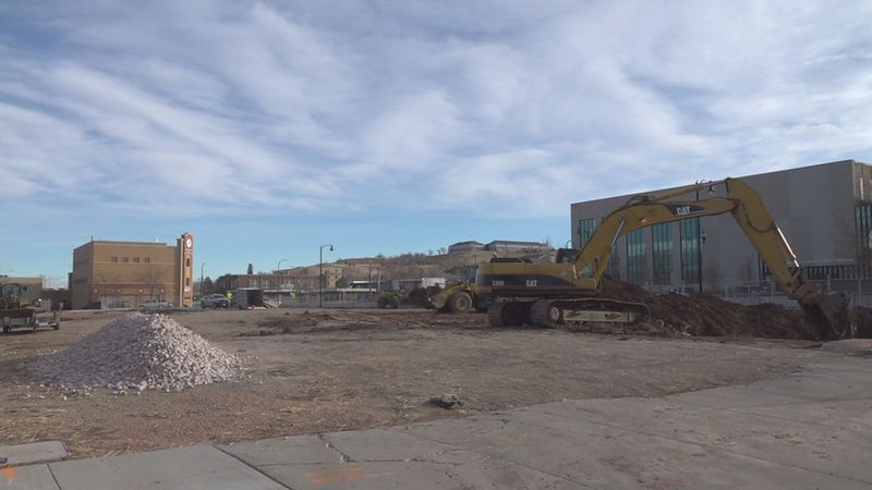 City officials announced a $14.7 million permit for construction of a four-story building on...