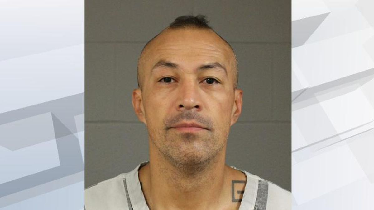 Alton Ray Bear is accused of shooting and killing a man and wounding three others. (Dakota...