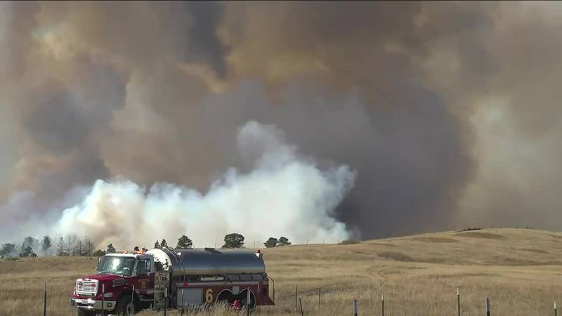 Fire crews are now estimating the size of the Auburn Fire burning north of Rapid City as...