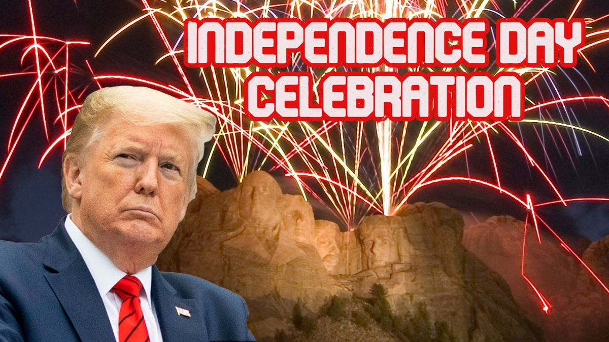 President Trump is expected to join 7,500 people in an Independence Day celebration at Mount Rushmore on July 3. (photos courtesy SD Department of Tourism and the White House)