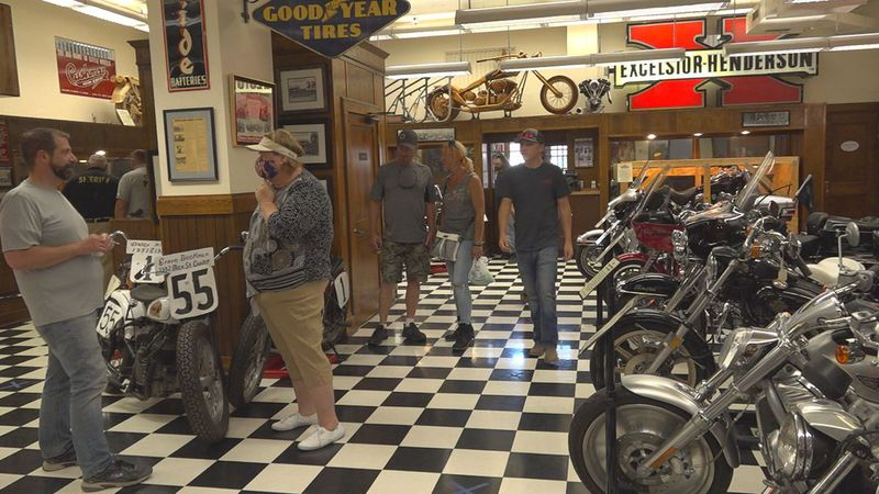 The Sturgis Motorcycle Museum and Hall of Fame doing well during the 80th Rally.