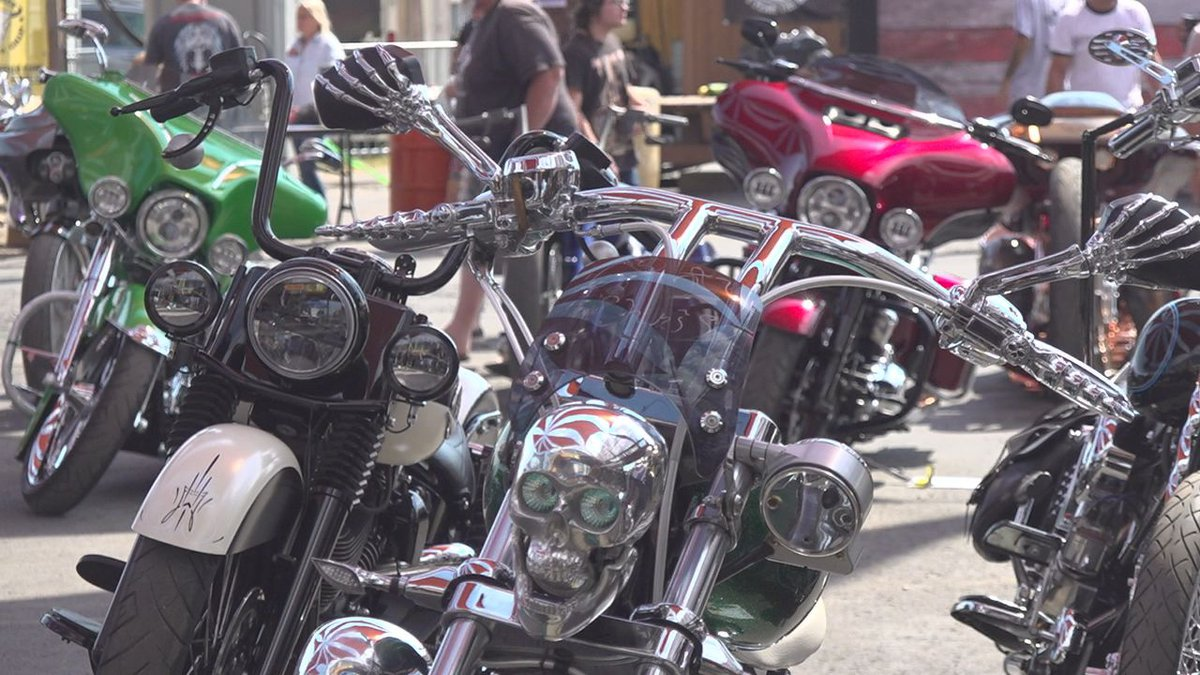 If you were wondering where all the unique and one-of-a-kind bikes were Thursday, they were all...