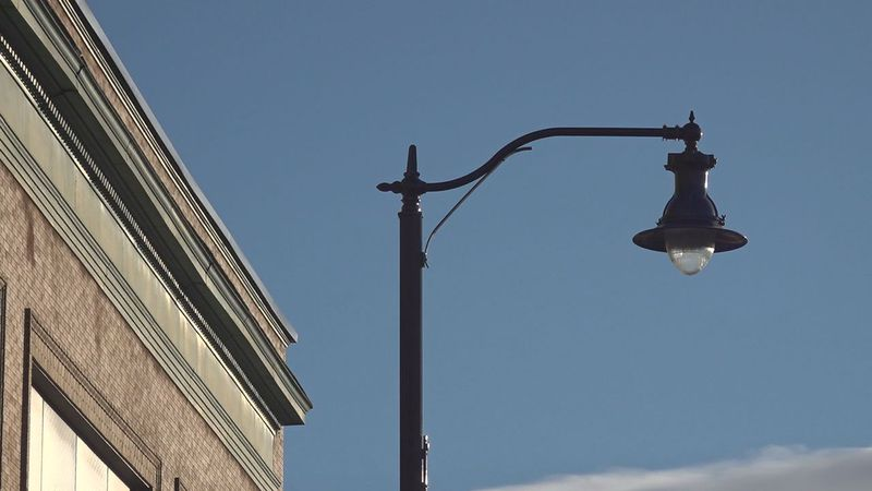 Downtown Rapid City is getting new lights.