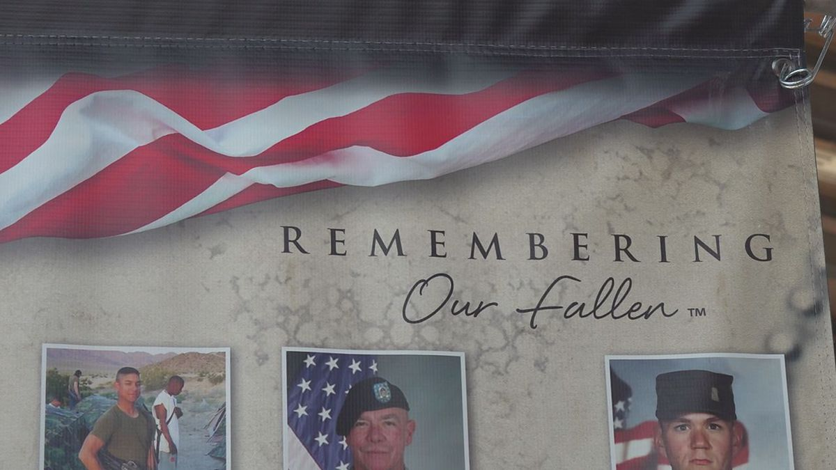 Remembering Our Fallen tribute