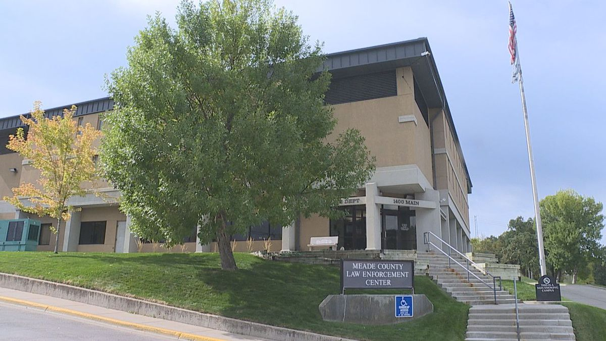 Meade County Law Enforcement Center building in Sturgis.