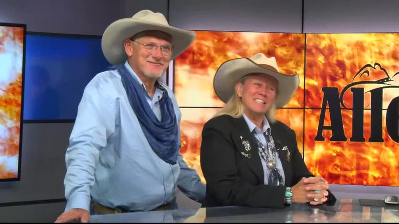 Allen and Jill Kirkham are Academy of Western Artists (AWA) 2019 West-ern Group of the Year...