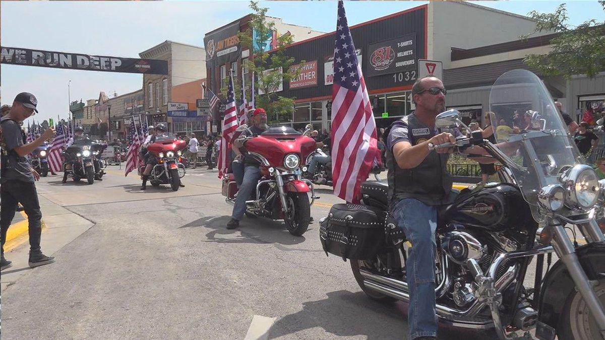 Parade down Main Street
