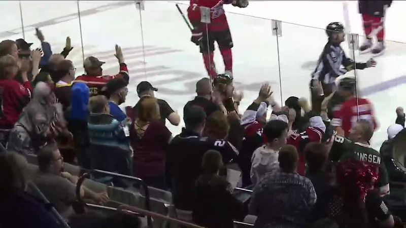 The Rush beat the Mavericks 3 to 2 in the first game of their series. Highlights from the Rapid...