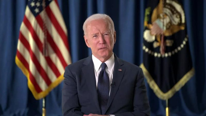 President Biden is promising to fight as hard as possible for his infrastructure plan, despite...
