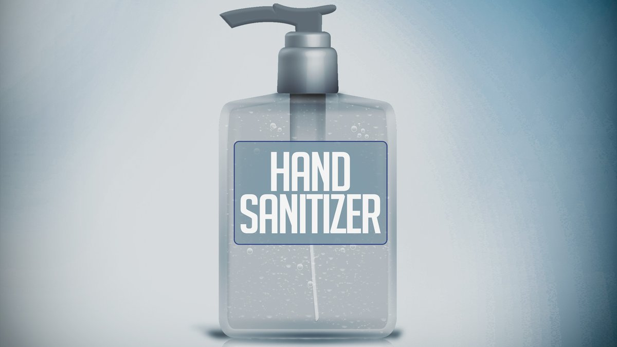 The FDA is warning consumers the agency has seen a sharp increase in hand sanitizer products...