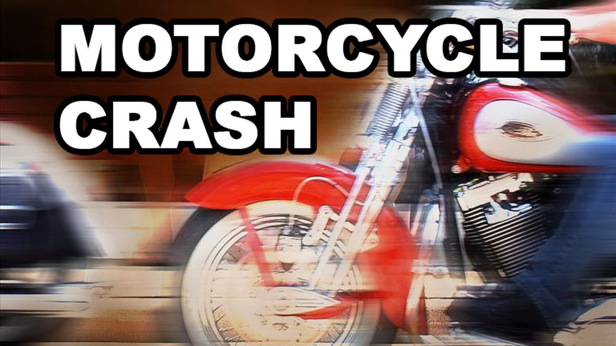 A motorcyclist was killed Tuesday when a semi-truck driver tried to pass him on U.S. Highway 385.
