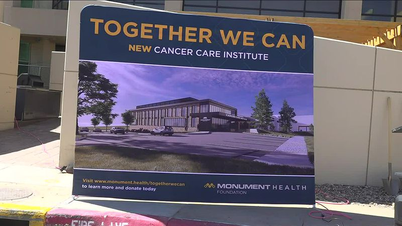 Fundraising goal to expand cancer care institute reached as Monument breaks ground