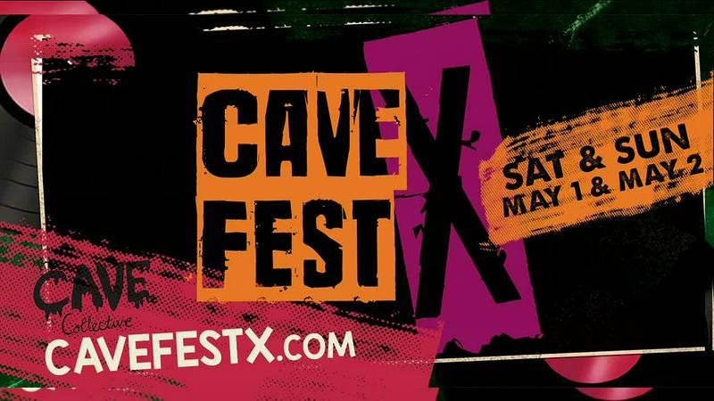 Cave Collective FestX Fundraiser
