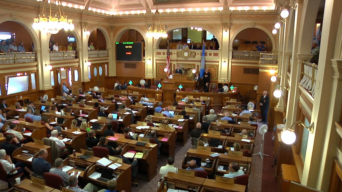 The South Dakota Legislature was in special session Monday, hammering out new rules so people could regain access to lakes mostly on private land.