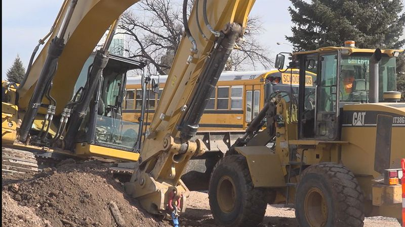 Construction begins on Main Street and West Boulevard.