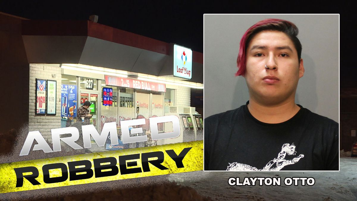 The Loaf 'N Jug on Mount Rushmore Road was robbed Saturday night. (KOTA TV)