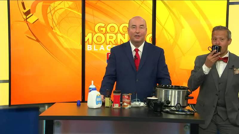 Eric's 60 Second Kitchen - No Coffee Pumpkin Latte