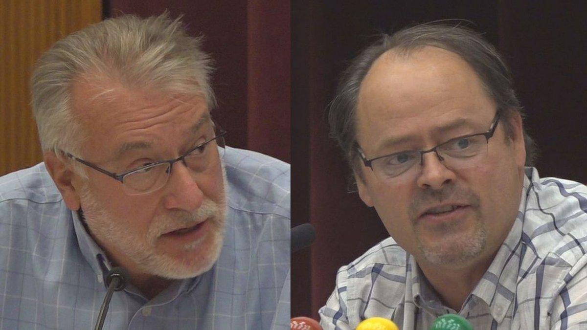 Bill Evans and Johjn B. Roberts