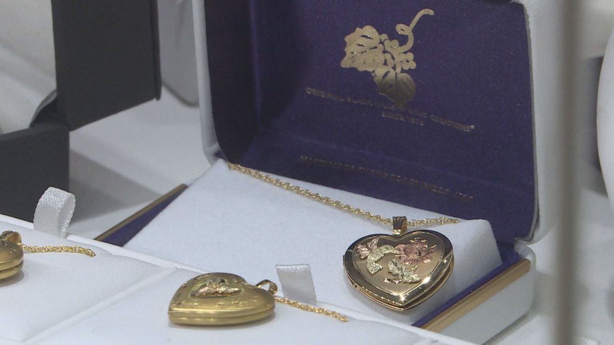 Black Hills Gold Jewelry is found in over 500 stores around the nation. (KEVN)
