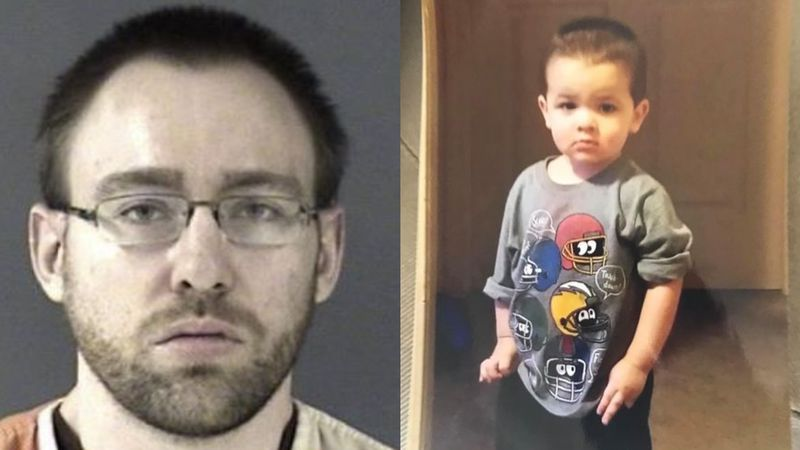 Police have arrested 27-year-old Wyatt Lamb (left) in connection to the death of 2-year-old...