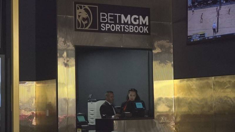 A historic day in historic Deadwood, as the first legal sports bet was placed at the Tin Lizzie...