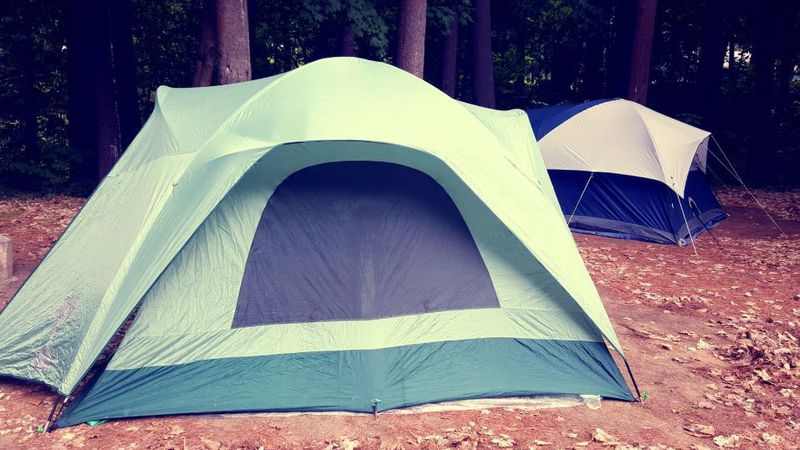 National campgrounds are open.