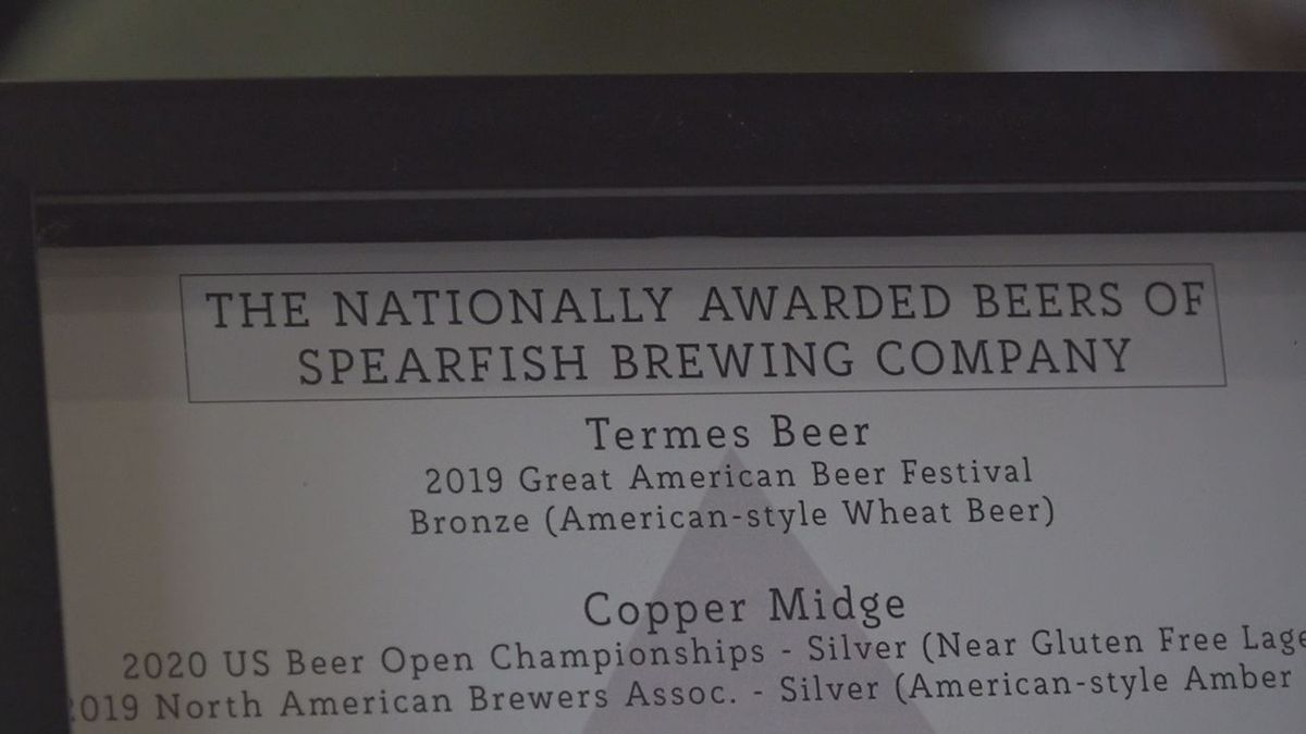A German Heller Bock and an IPA made by the Spearfish Brewing Company took home gold medals at...
