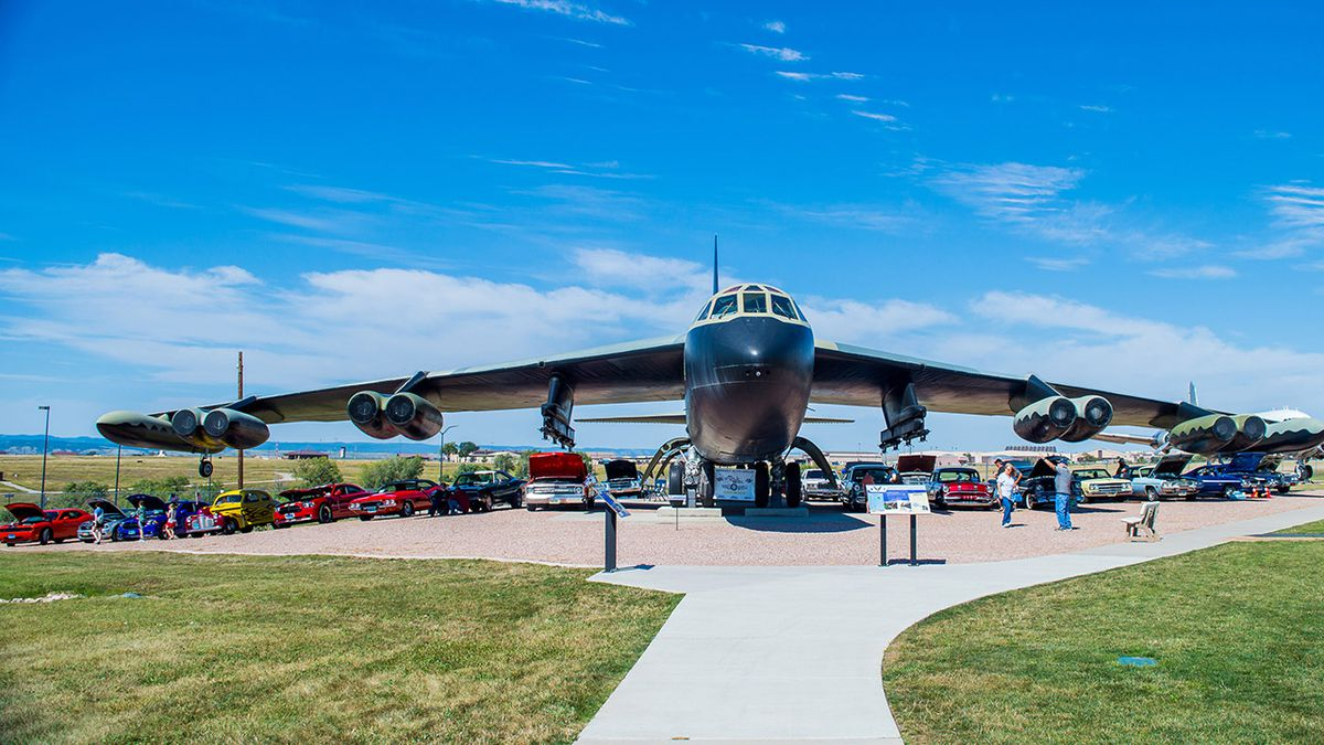 The Wings and Wheels car show is a main fundraising event for the  South Dakota Air & Space Museum. (photo courtesy SD Air & Space Museum)