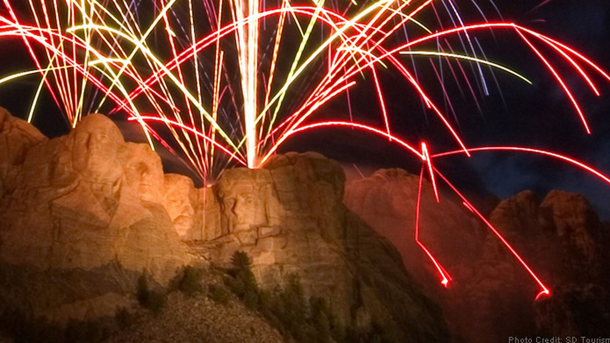Fireworks are no longer a part of Fourth of July celebrations at Mount Rushmore. They were...