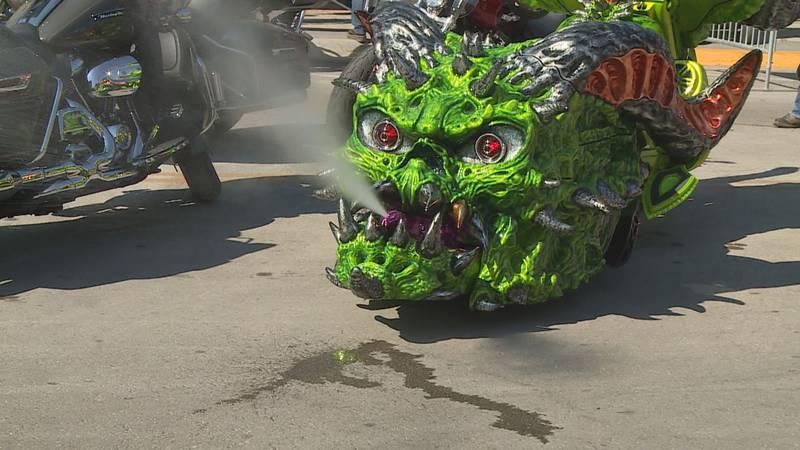 3-D bike