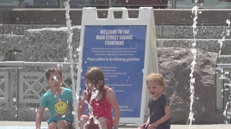 Main Street Square's iconic fountains are more than a decade old, and with their age comes a...