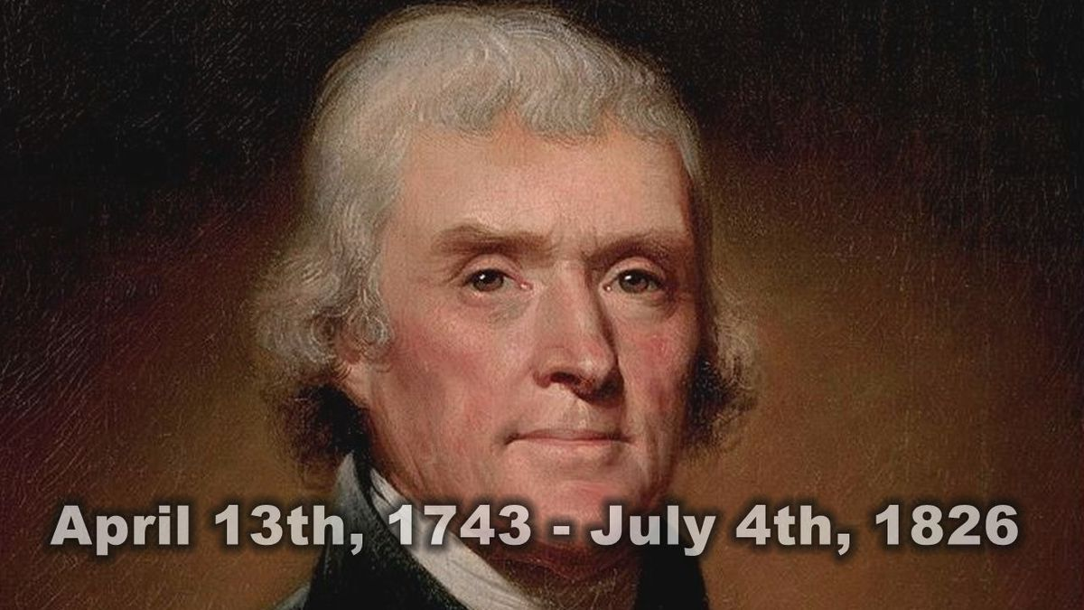 President Jefferson helped to bring ice cream to the States.