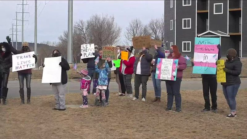 Transgender activists across South Dakota stand together to raise awareness