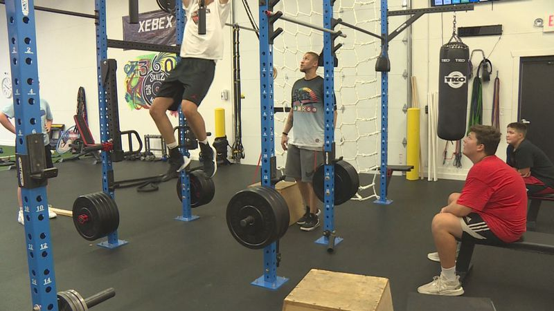 An athletic training facility is wide open and serving kids from every corner of the Rapid...