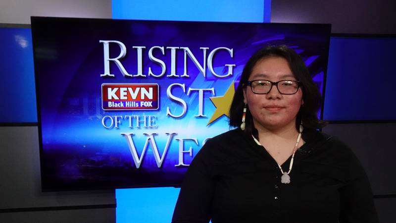 Angelina Swallow is the second Rising Star of the West Scholarship Contest finalist.