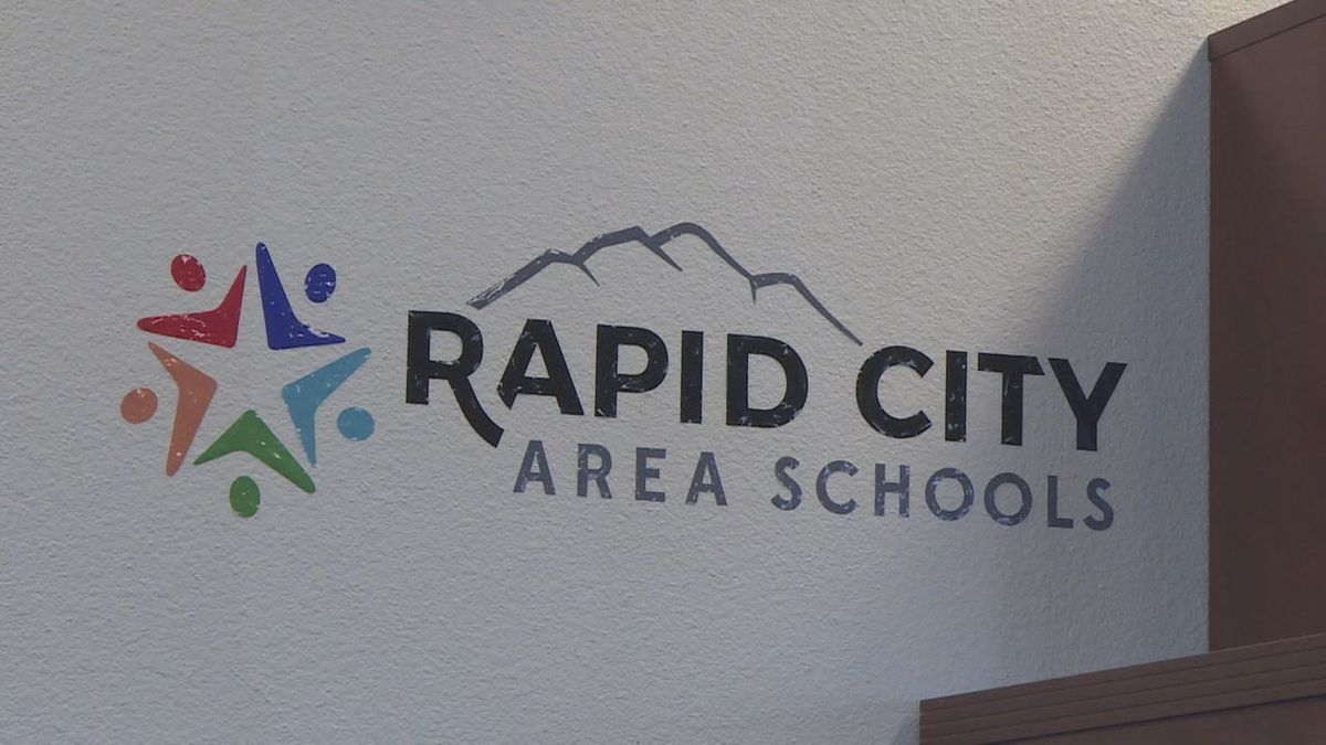 One of the signs located in the high school.