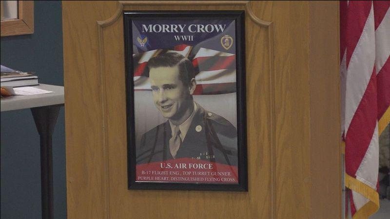 Rapid City celebrates Technical Sergeant Morry Crow's 101 Birthday