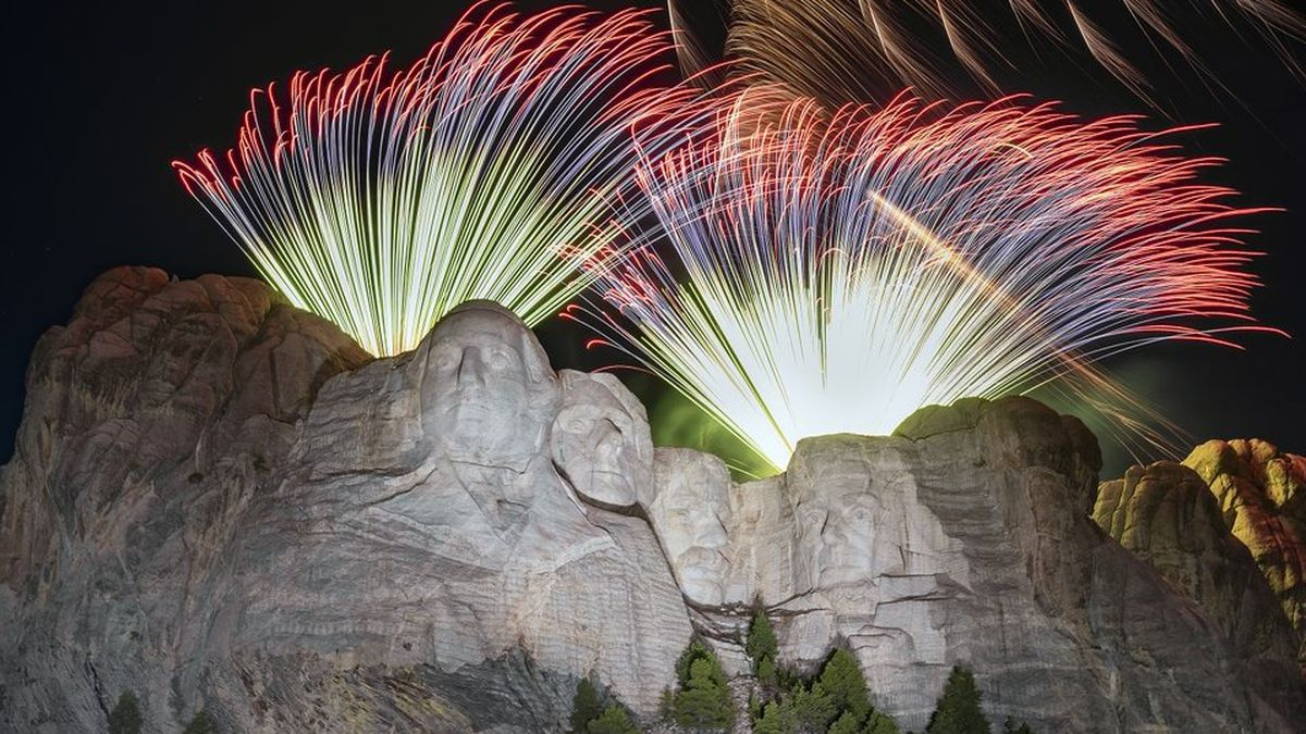 Fireworks returned to Mount Rushmore after a decade hiatus in July of 2020.