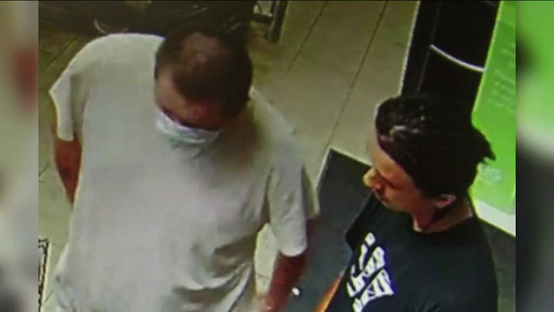 RCPD looking for two suspects in a gas station robbery