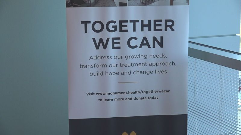 The John T. Vucurevich Cancer Care institute at Monument Health serves nearly 40 thousand...