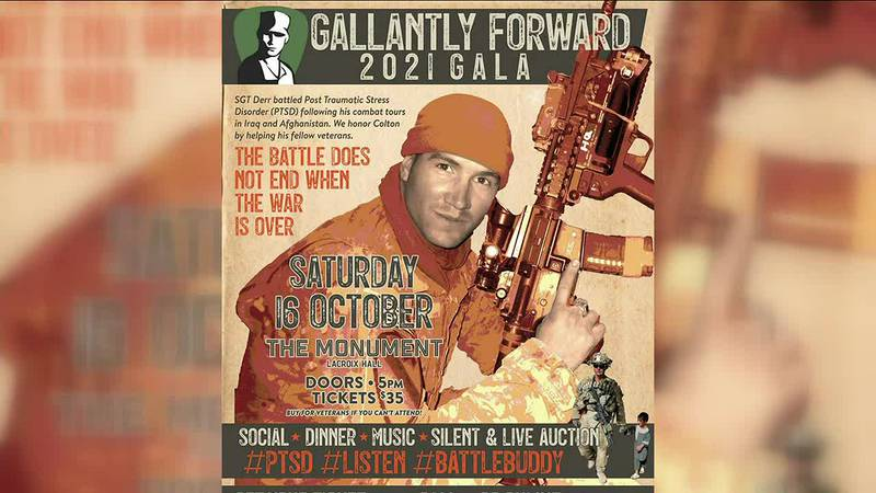 'Gallantly Forward Gala' in supportof Veterans on Saturday, October16,2021 at The Monument