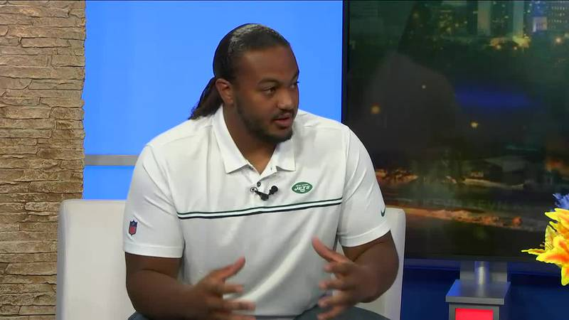 A football player from the Oglala Sioux Tribe could be the next player for the New York Jets