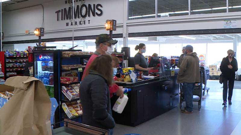 Timmons Market is one local store seeing heavier foot traffic just before Turkey Day.