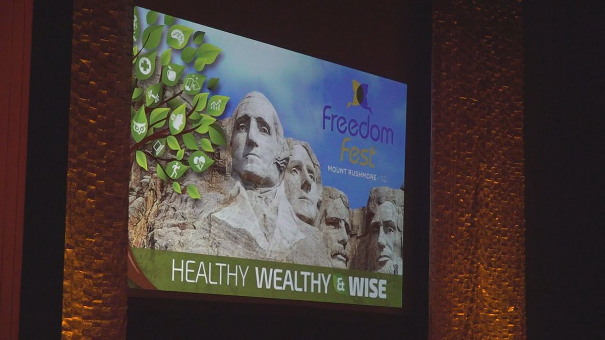 FreedomFest kicked off their events this year at the Monument in Rapid City.